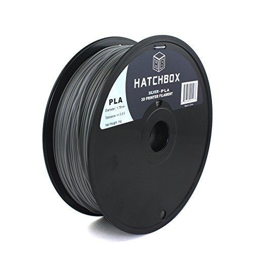 HATCHBOX-3D-PLA-1KG175-SLV-PLA-3D-Printer-Filament-Dimensional-Accuracy-005-mm-1-kg-Spool-175-mm-Silver-0