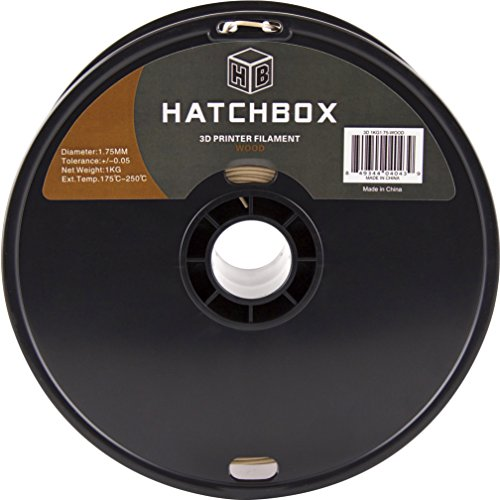 HATCHBOX-3D-WOOD-1KG175-3D-Printer-Filament-Dimensional-Accuracy-005mm-175-mm-1-kg-Spool-Wood-0-0