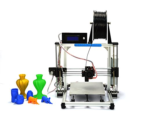 HICTOP-Desktop-3D-Printer-New-Version-DIY-3D-Printer-Kits-High-Accuracy-CNC-Self-assembly-Aluminum-Frame-Structure-Tridimensional-106-x-83-x-77-Printing-SizeThe-filament-is-not-included-Works-with-PLA-0-1