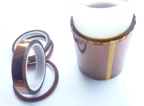 HOEREV-Brand-Polyimide-Film-Tape-Amber-High-Temperature-Heat-ResistantLength-36y33m-0-0