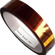 HOEREV-Brand-Polyimide-Film-Tape-Amber-High-Temperature-Heat-ResistantLength-36y33m-0