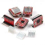 Hobbypower-A4988-StepStick-Stepper-Motor-Driver-Module-Heat-Sink-for-3D-Printer-Reprap-pack-of-5-pcs-0