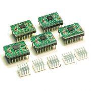 JOYSA-5-PCS-Allegro-A4988-StepStick-Stepper-Motor-Drivers-for-3D-Printer-Electronics-CNC-Machine-or-Robotics-0