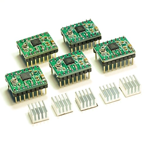 JOYSA-5-PCS-Allegro-A4988-StepStick-Stepper-Motor-Drivers-for-3D-Printer-Electronics-CNC-Machine-or-Robotics-0