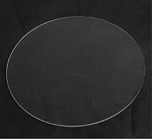 Kossel-310mm-3d-Printer-Kit-Accessory-for-Rostock-Max-Delta-Kossel-Mini-Borosilicate-Glass-Plate-Round-3mm-Thick-Borosilicate-Glass-Board-0-0
