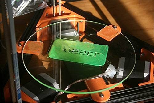 Kossel-310mm-3d-Printer-Kit-Accessory-for-Rostock-Max-Delta-Kossel-Mini-Borosilicate-Glass-Plate-Round-3mm-Thick-Borosilicate-Glass-Board-0-2