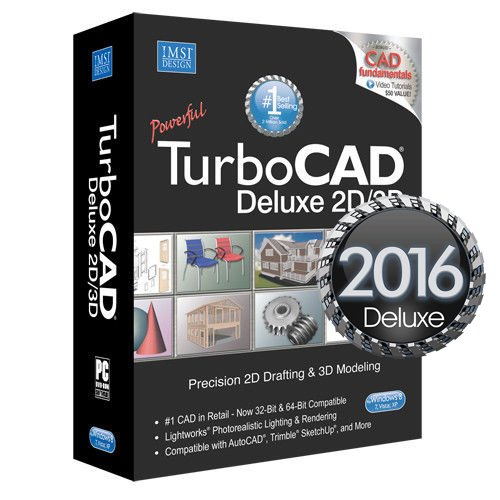 NEW-TurboCAD-Deluxe-2016-2D3D-Drafting-Modeling-Rendering-recognizes-Autocad-0