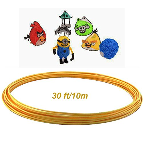 New-Wayzon-ABS-175mm-3D-Printer-Pen-Filament-Refills-Plastic-Safe-Drawing-Printing-Consumables-Material30-Feet10m-1pc-Gold-0