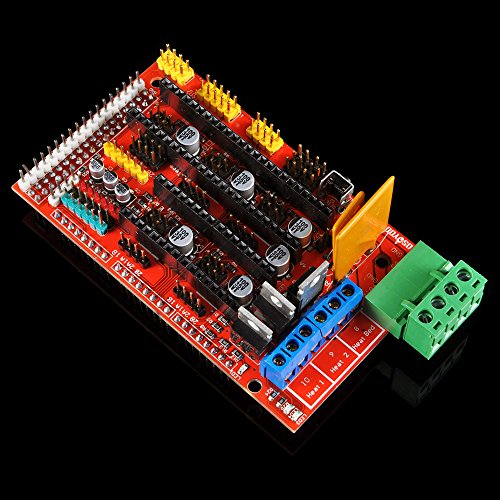 OSOYOO-3D-Printer-Kit-with-RAMPS-14-Controller-Mega-2560-board-5pcs-A4988-Stepper-Motor-Driver-with-Heatsink-LCD-12864-Graphic-Smart-Display-Controller-with-Adapter-For-Arduino-RepRap-0-0