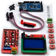Quimat-QK17-3D-Printer-Kit-5pcs-A4988-Stepper-Motor-Driver-with-Heatsink-Controller-RAMPS-14-LCD-12864-Graphic-Smart-Display-Controller-with-Adapter-Mega-2560-R3-For-Arduino-RepRap-0-2