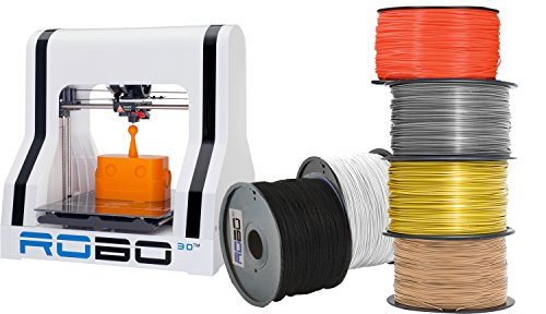 ROBO-3D-A1-0006-000-3D-Printer-with-6-Spools-of-Filament-Pack-of-7-0
