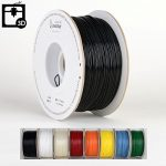 Smartbuy-175mm-Black-PLA-3D-Printer-Filament-1kg-Spool-Roll-22-lbs-Dimensional-Accuracy-005mm-0