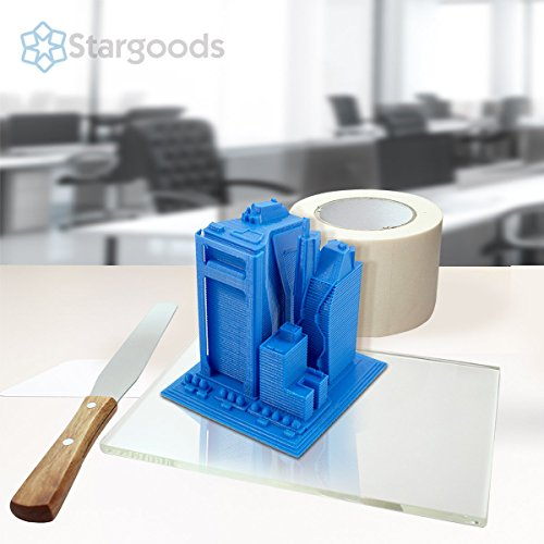 Stargoods-3D-Printer-Kit-Tempered-Glass-Removal-Tool-Painters-Tape-0-1
