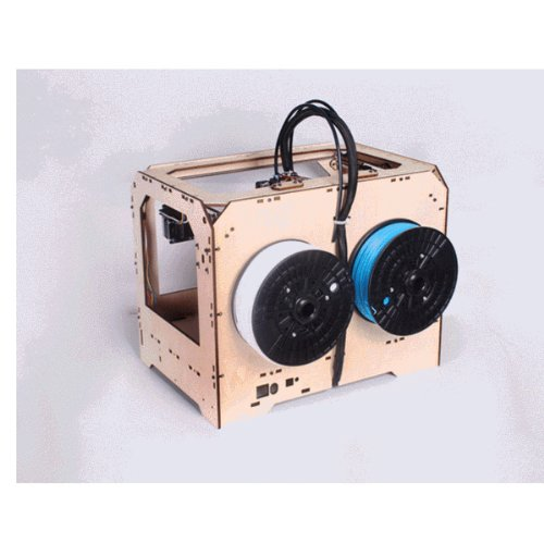 Super-Creator-3D-Printer-with-Dual-Extruder-Wood-Case-0-0