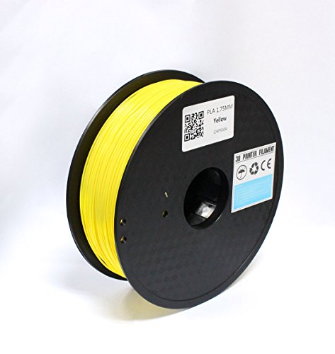 TRITECHNOX-175mm-PLA-3D-Printer-Filament-1kg-Spool-22-lbs-Dimensional-Accuracy-005mm-YELLOW-0