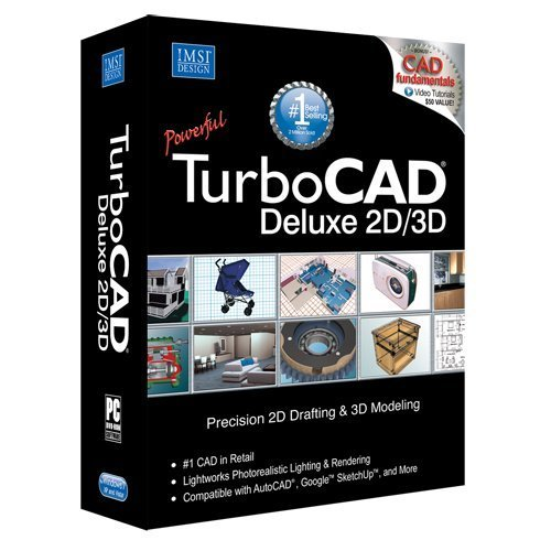 TurboCAD-Deluxe-19-2D-Design-3D-Modeling-CAD-Software-0
