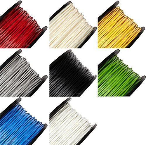 rigidink-Sample-of-ALL-8-Colors-of-the-Best-Pure-Filament-for-3D-Printers-and-Pens-003mm-Tolerance-0