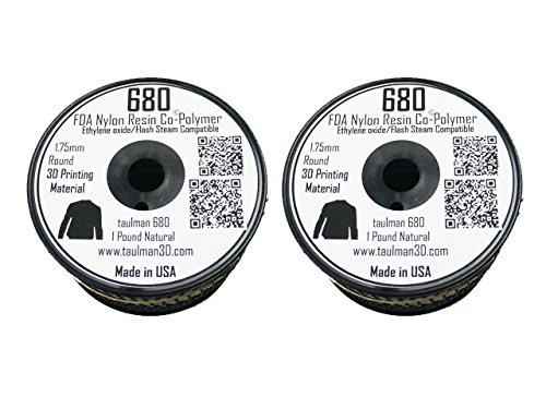 Taulman-Nylon-680-FDA-3D-Printing-Filament-175-mm-Two-Pack-0