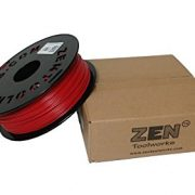 Zen-ToolworksTM-3D-Printer-175mm-Dark-Red-PLA-Filament-1kg-22lbs-Spool-0