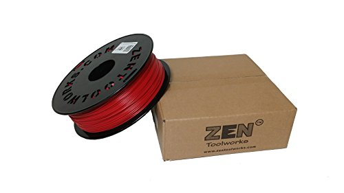 Zen-ToolworksTM-3D-Printer-175mm-Dark-Red-PLA-Filament-1kg-22lbs-Spool-0
