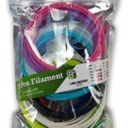 3D-Pen-Filament-Refills-12-Different-Colors-100-Plus-Stencil-Ebook-FREE-3-GLOW-in-the-dark-240-Linear-Feet-Total-175mm-ABS-0-5