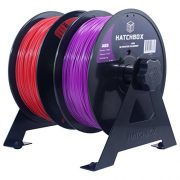 HATCHBOX-2-Spool-3D-Printer-Filament-Tabletop-Wall-Mount-Rack-0-0